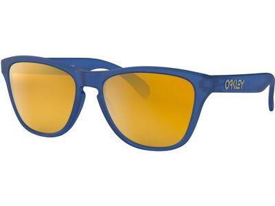 Oakley Frogskins XS, matte sapphire/Lens: 24k iridium - Sonnenbrille