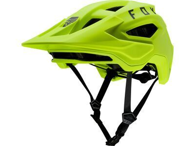 Fox Speedframe Helmet, fluorescent yellow - Fahrradhelm