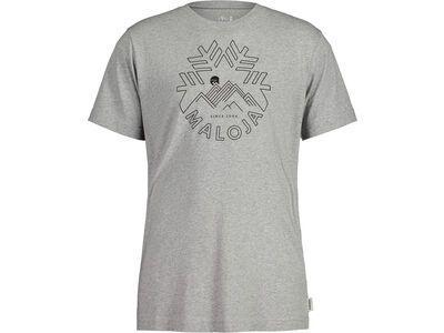 Maloja ChuzamM., grey melange - T-Shirt