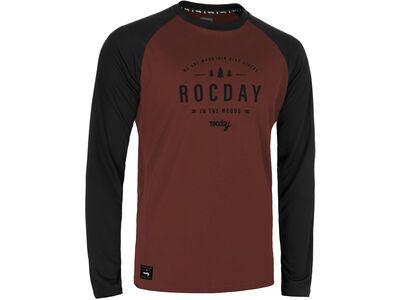 Rocday Patrol Jersey black/red
