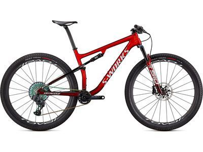 Specialized S-Works Epic red tint/brushed/white 2021
