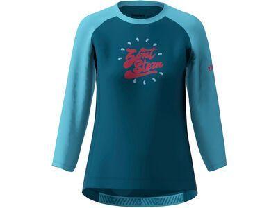 Zimtstern PureFlowz Shirt 3/4 Women french navy/heritage blue
