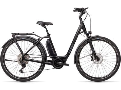 Cube Town Sport Hybrid EXC 500 2021, black´n´grey - E-Bike