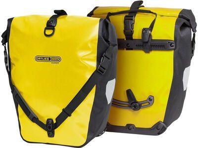 Ortlieb Back-Roller Classic (Paar), gelb-schwarz - Fahrradtasche