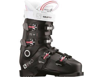 Salomon S/Pro 70 W 2021, black/garnet pink/white - Skiboots