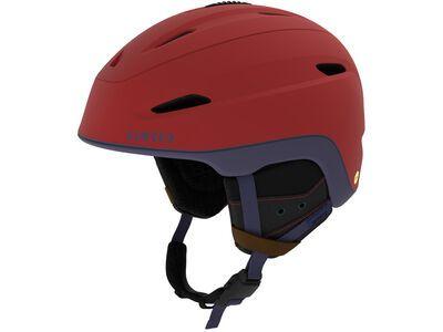 Giro Zone MIPS, matte dark red/midnight sierra - Skihelm