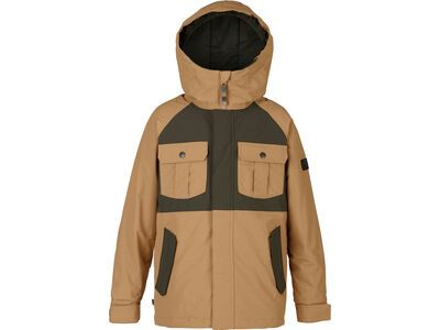 Burton Boys Fray Jacket, kelp/forest night - Snowboardjacke