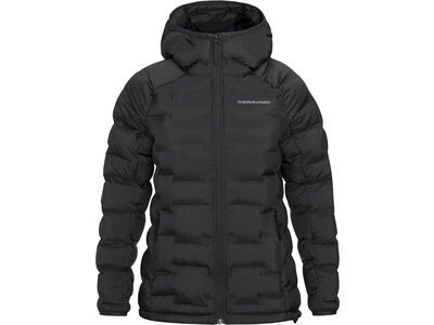 Peak Performance W Argon Hood Jacket, black - Thermojacke