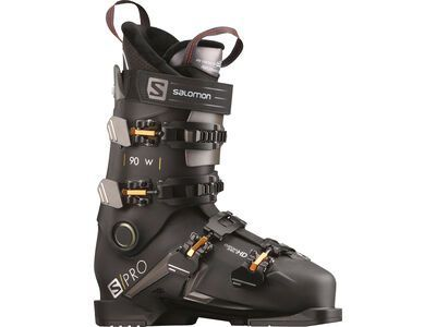 Salomon S/Pro 90 W 2021, black/belluga/metallic - Skiboots