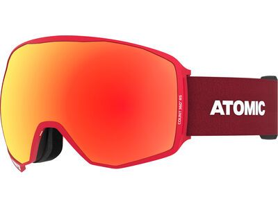 Atomic Count 360° HD Rs inkl. WS, red/Lens: red hd - Skibrille