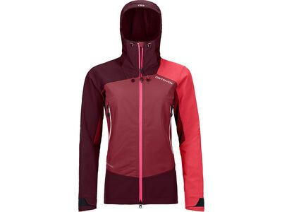 Ortovox Westalpen Softshell Jacket W, dark blood - Softshelljacke