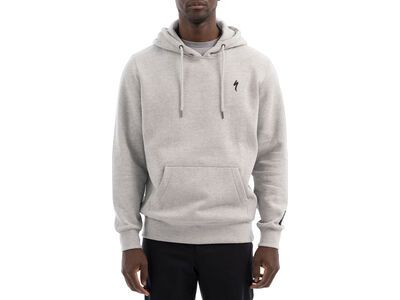 Specialized Men's S-Logo Pull Over Hoodie, heather grey - Hoody