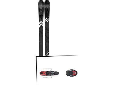 Set: K2 SKI Press 2019 + Atomic Warden MNC 11 black/red