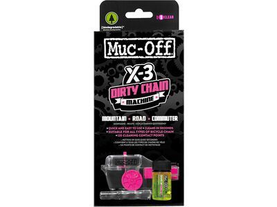 Muc-Off X-3 Dirty Chain Machine inkl. 75 ml Bio Drivetrain Cleaner