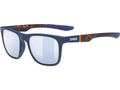 uvex lgl 42, blue mat havanna/Lens: litemirror silver - Sonnenbrille