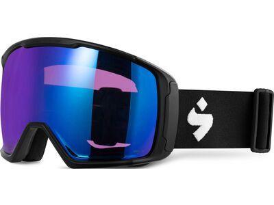 Sweet Protection Clockwork MAX RIG Reflect, matte black/Lens: RIG sapphire - Skibrille