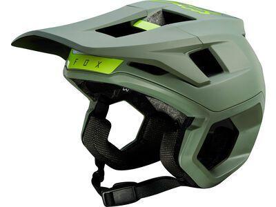 Fox Dropframe Pro Helmet, pine - Fahrradhelm