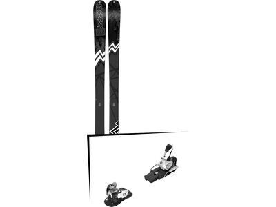 Set: K2 SKI Press 2019 + Salomon Warden MNC 13 white/black