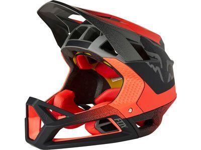 Fox Proframe Helmet Vapor white/red/black