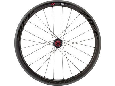 Zipp 303 Firecrest Carbon Clincher, matte black decor - Hinterrad