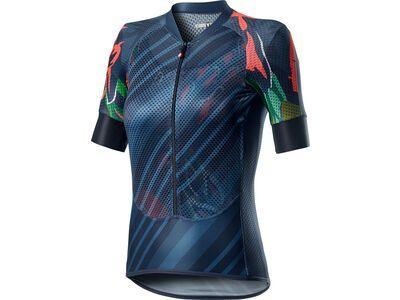 Castelli Climber's W Jersey, dark steel blue - Radtrikot