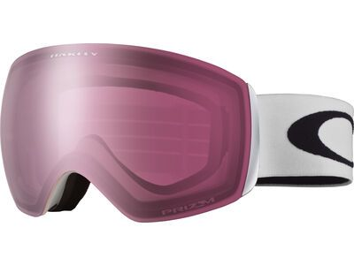 Oakley Flight Deck XM Prizm, matte white/Lens: rose - Skibrille