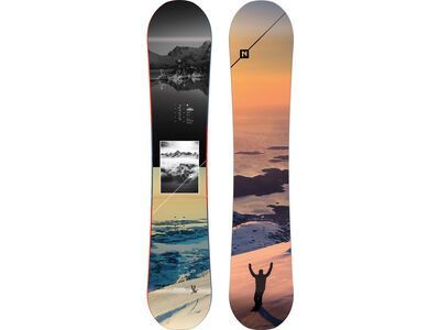 Nitro Team Exposure Gullwing Wide 2020 - Snowboard