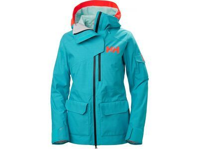 Helly Hansen W Powderqueen 2.0 Jacket, scuba blue - Skijacke
