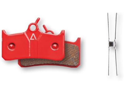 Cube Acid Scheibenbremsbelag Shimano Deore XT/BR-M755 - gesintert red
