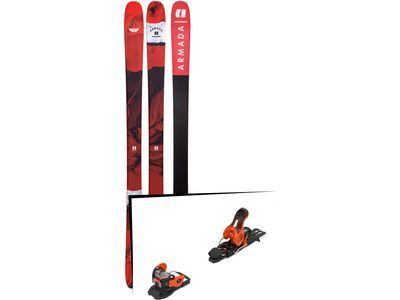 Set: Armada Tracer 88 2019 + Salomon Warden 11 orange/black