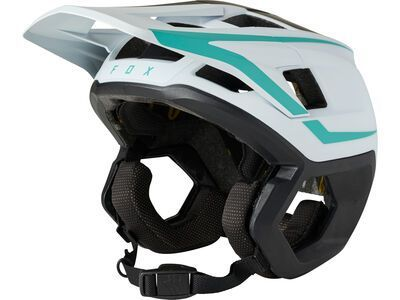 Fox Dropframe Pro Helmet Driver teal
