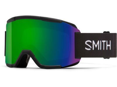 ***2. Wahl*** Smith Squad inkl. WS, black/Lens: cp sun green mir - Skibrille