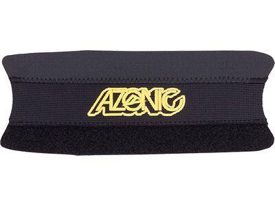 Azonic Umma Gumma Chainstay Protection, black/neon yellow - Kettenstrebenschutz