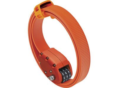 Otto DesignWorks Ottolock Cinch Lock - 76 cm, orange - Fahrradschloss