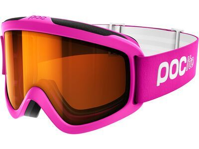 POC POCito Iris, fluorescent pink/Lens: sonar orange - Skibrille