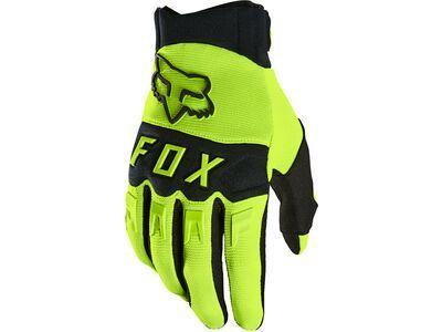 Fox Dirtpaw Glove fluorescent yellow
