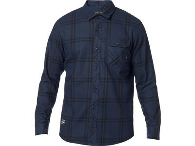 Fox Voyd 2.0 Flannel, midnight - Hemd