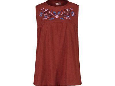 Maloja SalinaM., maroon - T-Shirt