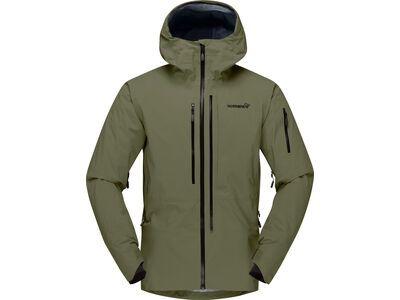 Norrona lofoten Gore-Tex Pro Jacket M's, olive night - Skijacke