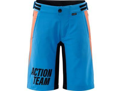 Cube Junior Baggy Shorts X Actionteam blue´n´orange