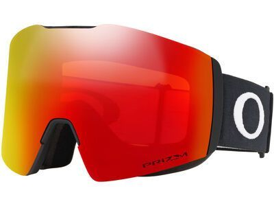 Oakley Fall Line XL Prizm, matte black/Lens: torch iridium - Skibrille