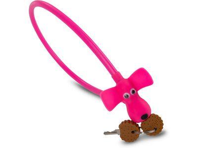 Cube RFR Kabelschloss HPS Dog pink