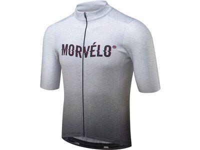 Morvelo Noise Standard SS Jersey, grey - Radtrikot
