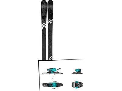 Set: K2 SKI Press 2019 + Salomon Warden 11 turquoise/black