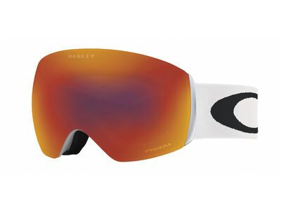 Oakley Flight Deck Prizm, matte white/Lens: torch iridium - Skibrille