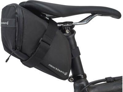 Blackburn Grid Large Bag, black reflective - Satteltasche