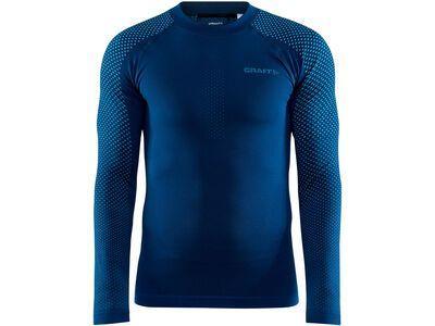 Craft Adv Warm Fuseknit Intensity LS M, beat/lazer - Unterhemd