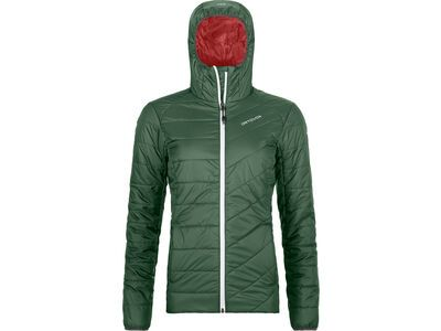 Ortovox Swisswool Piz Bernina Jacket W, green forest - Thermojacke