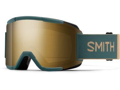 Smith Squad inkl. WS, spruce safari/Lens: cp sun black gold mir - Skibrille
