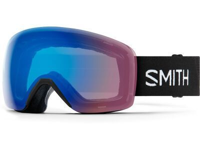 Smith Skyline, black/Lens: cp storm rose flash - Skibrille